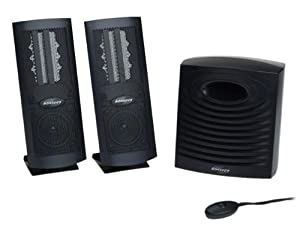 Monsoon MH-500 Flat Panel 3-Piece Computer Speakers