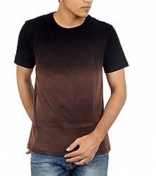 Younsters Choice Men's Cotton T-Shirt (YC-5844_Black_Medium)
