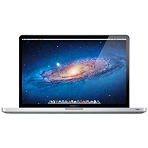 Apple MacBook Pro 17 inch Laptop (Quad-Core  i7 2.4GHz, RAM 4GB, HDD, 750GB, HD Graphics, Radeon HD6770M SD)