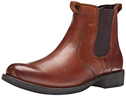 Eastland Men\'s Daily Double Chelsea Boot, Tan, 9 D US