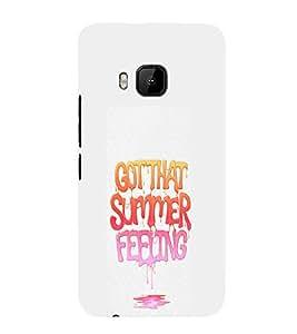 EPICCASE Summer Feeling Mobile Back Case Cover For HTC One M9 (Designer Case)