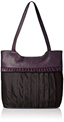 Fantosy Women's Handbag (Fnb-163, Black)