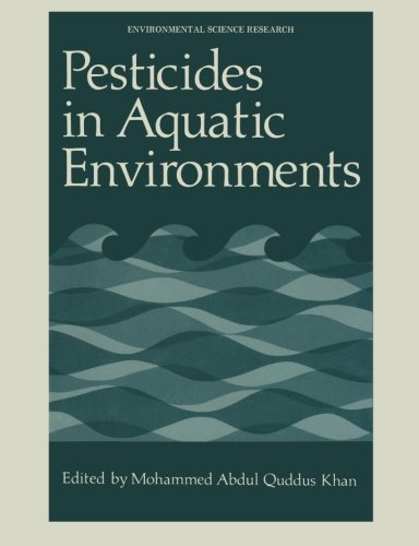 Pesticides in Aquatic Environments (Environmental Science Research  (closed))