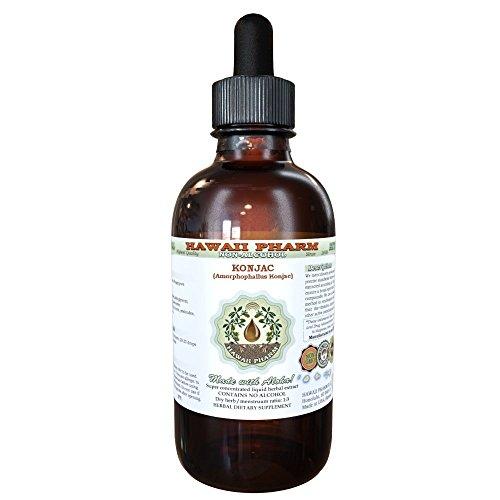 Konjac Alcohol-FREE Liquid Extract, Konjac (Amorphophallus Konjac) Dried Root Glycerite 2 oz (Konjac Root Extract compare prices)