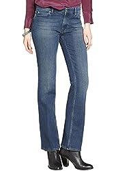 Mih Jeans Women's Stretch Denim Bootcut Jeans