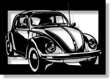 paper-cutouts-of-volkswagen-beetle-design-a4-size