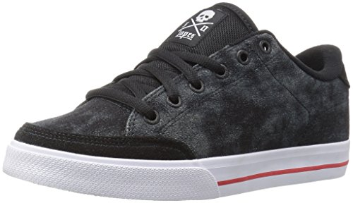 C1RCA Men's AL50 Skateboarding Shoe, Black/Tiedye, 8.5 M US