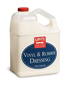 Griot's Garage 11175 Vinyl and Rubber Dressing - 1 Gallon