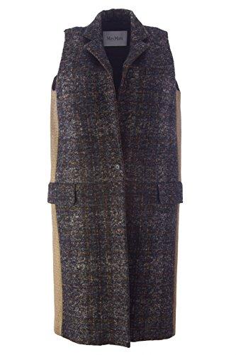 max-mara-womens-blando-long-wool-blend-vest-sz-4-black-gold