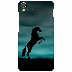 Lenovo S850 Back Cover - Black Horse Designer Cases