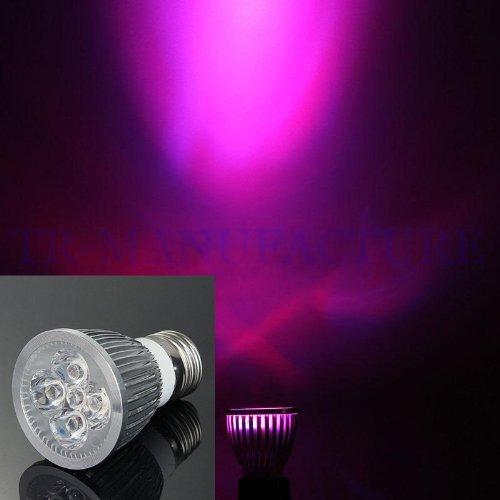 Aparche E27 5W Led Plant Grow Light Lamp Growing Hydroponic Ac85~265V 3Red+2Blue Par38
