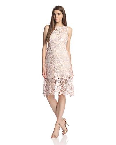 Julia Jordan Women's Sleeveless Lace A-Line Dress