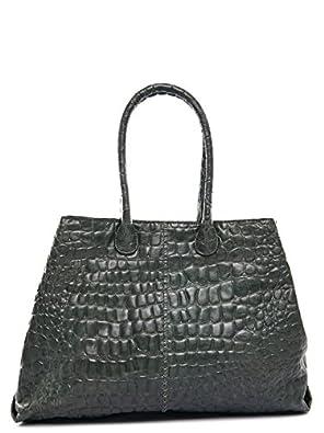 liebeskind croco chelsea tote croco chelsea bottlegreen shoes bags. Black Bedroom Furniture Sets. Home Design Ideas