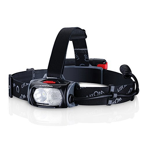 Topop Super Bright 220 Lumens LED Headlamp