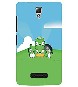 LENNOVO A2010 CARTOON CHARACTER Designer Back Cover Case By PRINTSWAG
