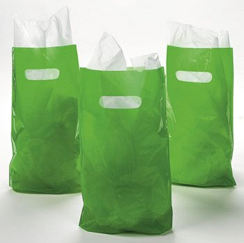 Green Plastic Bags (50 pc)