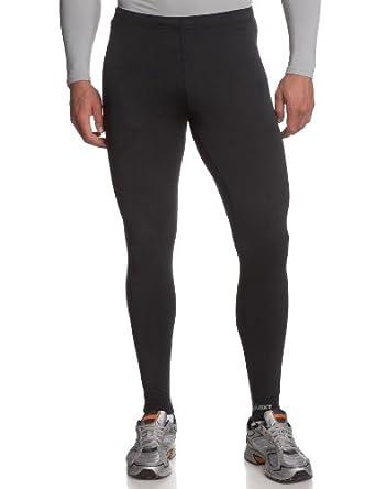 ASICS Men's Thermopolis Lt Running Tight,Black,Large