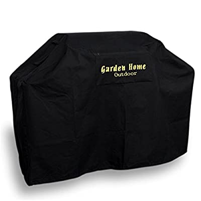 Garden Home outdoor Heavy Duty Grill Cover, Black, 64'' L