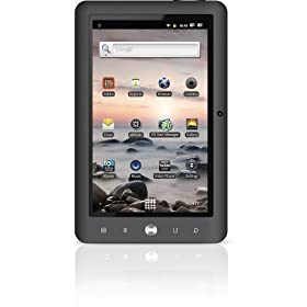 Coby Kyros 7-Inch�Android 2.3 4 GB Internet Touchscreen Tablet - MID7125-4G (Black)