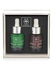APIVITA Natural Serum Set for Radiance and Lifting