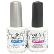 Gelish .5 Base & Top Coat Gel SET Har…