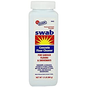 Gunk sw2 12pk swab powdered concrete floor for Powder concrete cleaner