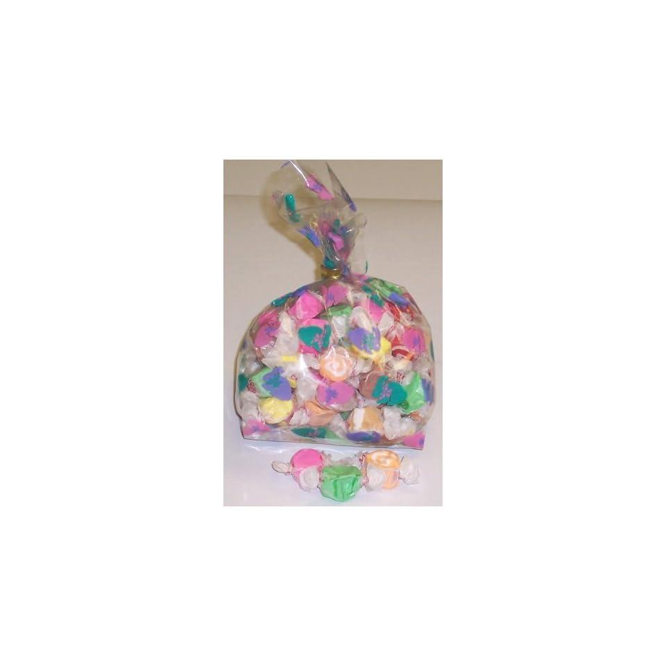 Scotts Cakes Assorted Salt Water Taffy 1 Pound Bunny Hop Bag