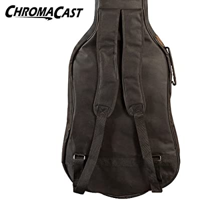 ChromaCast Acoustic Gig Bag with Pick Sampler & Strap by ChromaCast