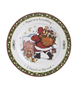 Portmeirion A Christmas Story Salad/Dessert Plates, Series 2, Set of 4