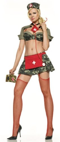 Ultra Sexy Army Nurse Costume