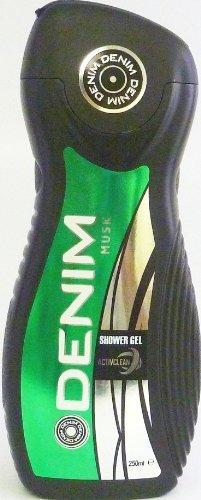 Denim Musk Shower Gel 8.45 Oz / 250 Ml, Made in Italy by DENIM