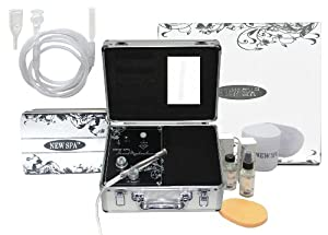 Diamond Microdermabrasion Machine NEW SPA HOME with Vacuum Massage Kit