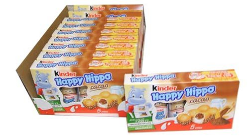 Kinder Happy Hippo Cacao Case 50 pieces!