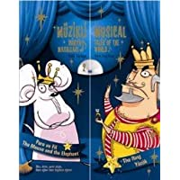Muzikli Dunya Masallari / Musical Tales of the World (Illustrated) Fare ve Fil / The Mouse and the Elephant Yuzuk / The Ring