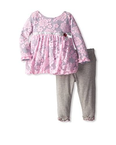 Youngland Baby Floral Dress Set
