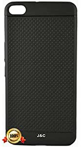 J & C Cases' HTC One X9 black dotted back cover (Designed black dotted cover)