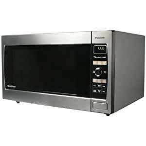 Panasonic NN-SD767S 1.6-Cubic-Foot 1250-Watt Microwave Oven, Stainless Steel