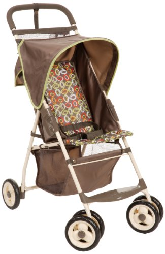 Cosco Juvenile Deluxe Comfort Ride Lightweight Stroller, Circus front-997502
