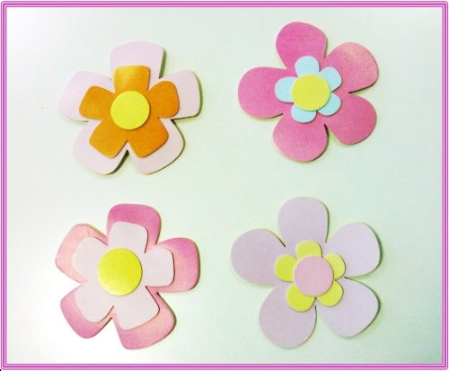 3D Large Flowers Wall Stickers