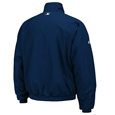 MLB Seattle Mariners Long Sleeve Lightweight Full Zip Thermabase Premier Jacket
