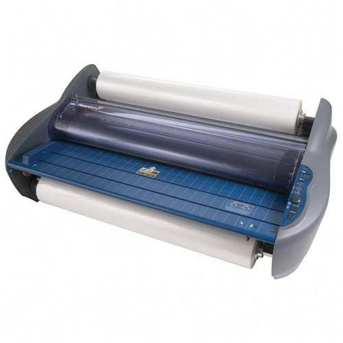 GBC Pinnacle 27 Roll Laminator, Photo Quality, 27 -Inch Width, 1.0 to 3.0 mm Thickness, NAP I or NAP II Film Compatibility, Gray (1701700)