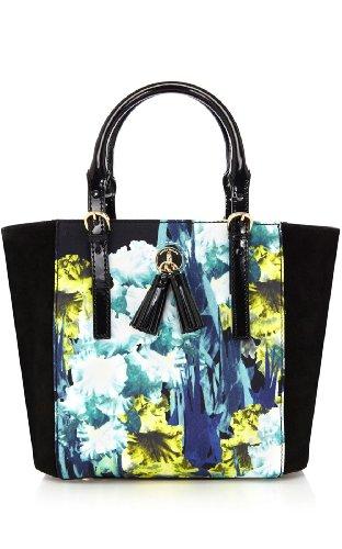 Iris Print Mini Bag