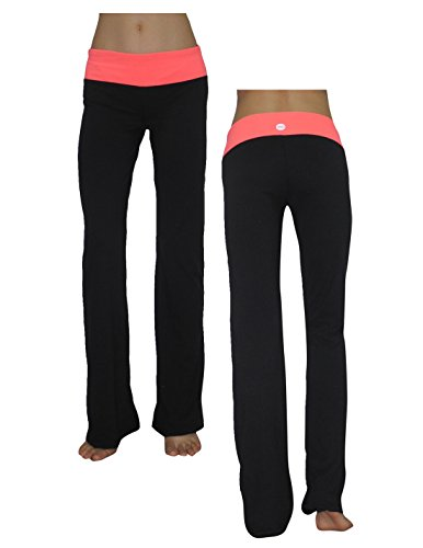 Balance Collection (By Marika) Womens Casual-Wear Lounge / Yoga Pants S Black front-805474