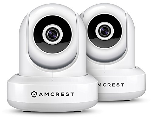2-Pack-Amcrest-ProHD-1080P-WiFiWireless-IP-Security-Camera-IP2M-841-PanTilt-2-Way-Audio-Optional-Cloud-Recording-Full-HD-1080P-2MP-Super-Wide-90-Viewing-Angle-Night-Vision-White