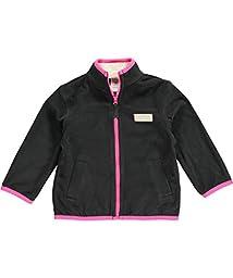 Carters Girls Microfleece Jacket Grey 24M