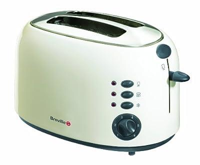 Breville VTT006 Cream Stainless Steel 2 Slice Toaster by Breville