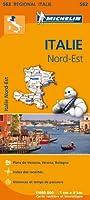 Carte Italie Nord-Est Michelin