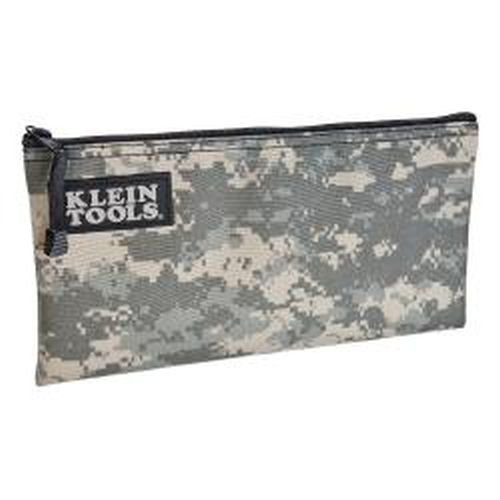 Klein Tools 5139C 12-1/2-Inch Cordura Camouflage Zipper Bag