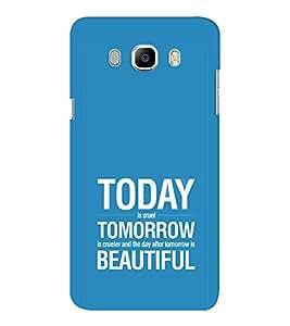 EPICCASE Future is success Mobile Back Case Cover For Samsung J7 2016 (Designer Case)