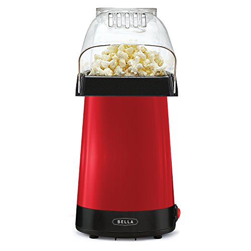BELLA 14604 Hot Air Popcorn Popper Maker, Red, (Popper In 90 Minutes compare prices)